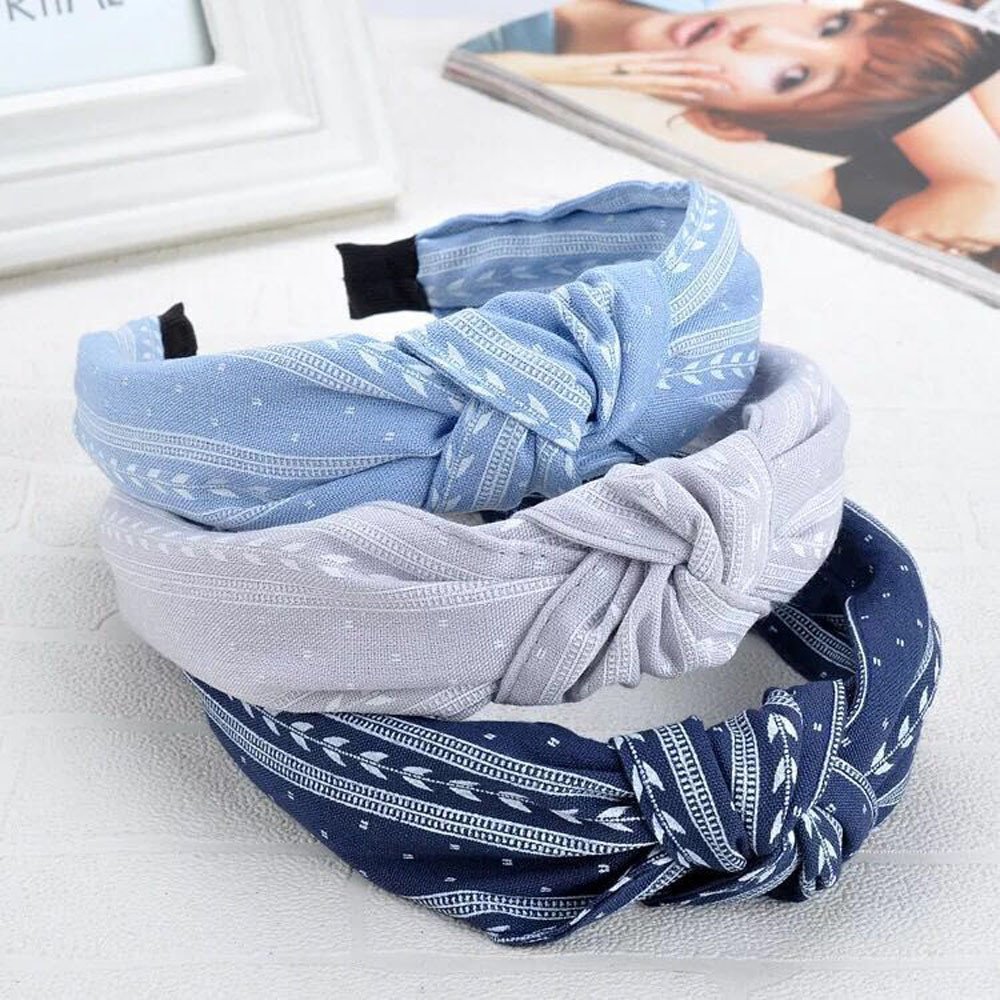 Womens Headband Twist Hairband Bow Knot Cross Tie Velvet Headwrap Hair Band Hoop Turban Headwear HairBands Hair Accessories