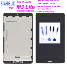 Starde For 8.0 Huawei M3 Lite 8 CPN-W09 CPN-AL00 CPN-L09 LCD Display Digitizer Screen Touch Panel Sensor Assembly +Free Tools