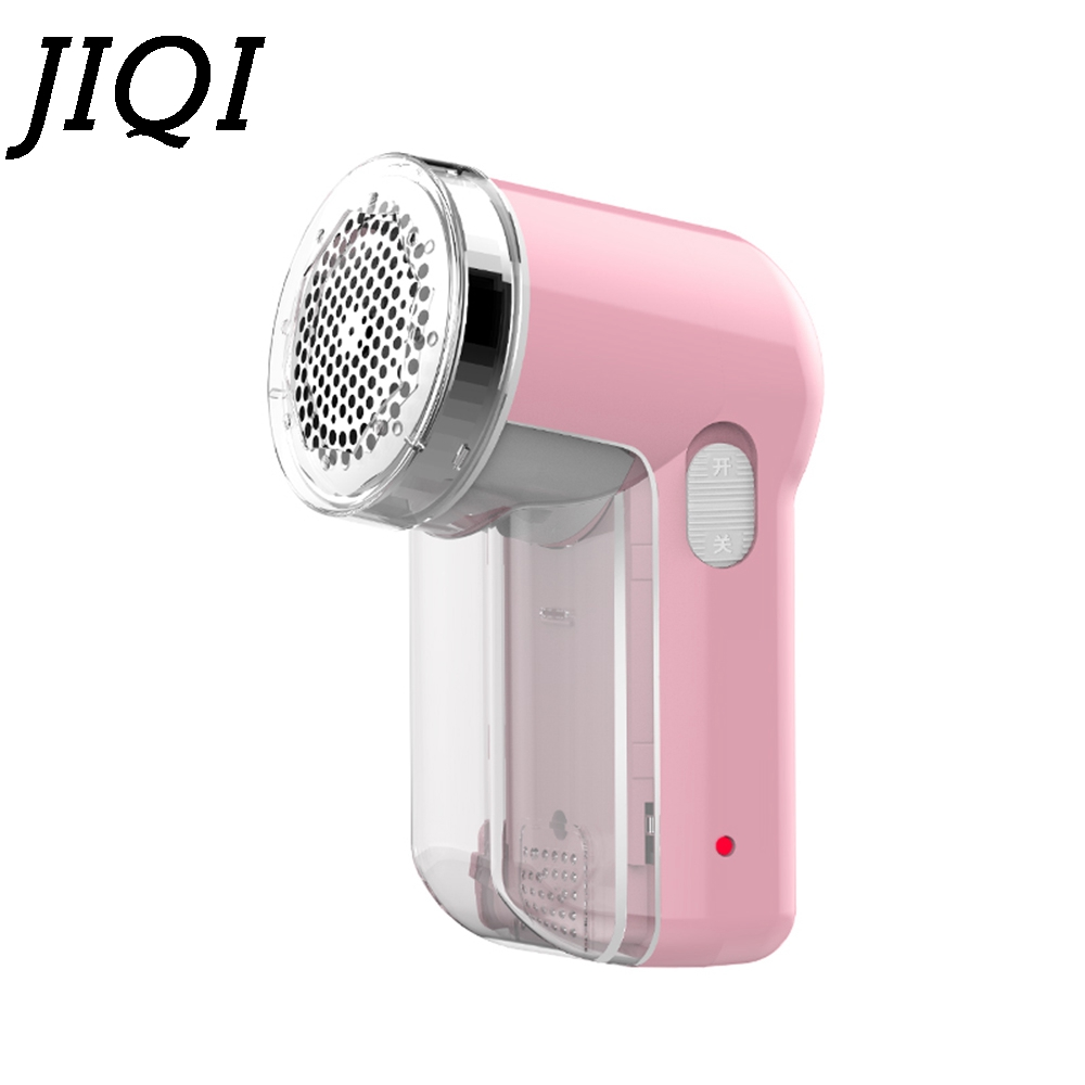 купить JIQI Rechargeable Fabric Electric Lint Remover Hair Ball Trimmer Fuzz Pellets Cut Machine Mini Epilator Sweater Clothes Shaver по цене 1105.68 рублей