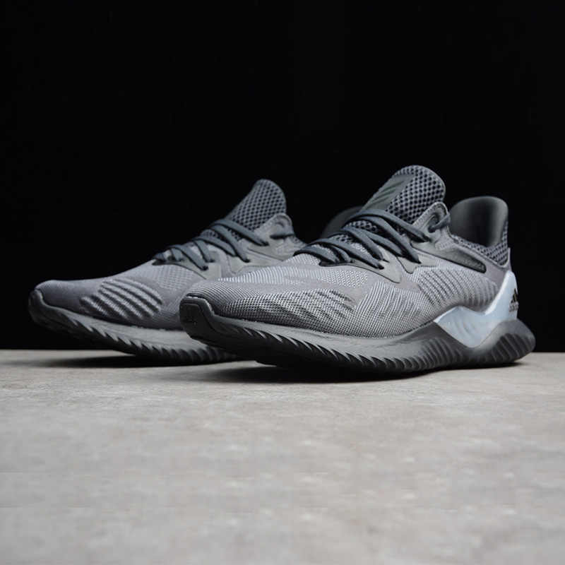 59d8a1b4f20cc ... Adidas Alphabounce Beyond Men s Running Shoes Original Sports Outdoor Sneakers  Shoes Grey Dark Grey Breathable ...