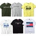 2017 PACCBET Gosha Rubchinskiy com Tag Real 1:1 Alta Qulity Camuflagem Camisa de T Das Mulheres Masculinos Justin Bieber Hip Hop Dos Homens T-shirt Tee