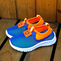 2016 Summer Boys Girls Cool Antiskid Sneaker Shoes Kids Cute Animal Heads Sprint Shoes Children Smile Mesh Breathable Shoes
