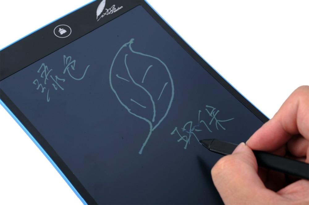 """Mavi Taşınabilir 8.5 """"LCD Bloknot Not Defteri Elektronik Kalem Çizim Grafik Tablet Dijital El Yazısı El Yazısı Kurulu Moda"""