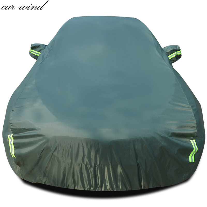 Car wind Oxford Waterproof Thicken Case For tesla model s mitsubishi outlander xl Sunshade Snow Protection rainproof Car Cover mitsubishi heavy industries srk50zm s src50zm s