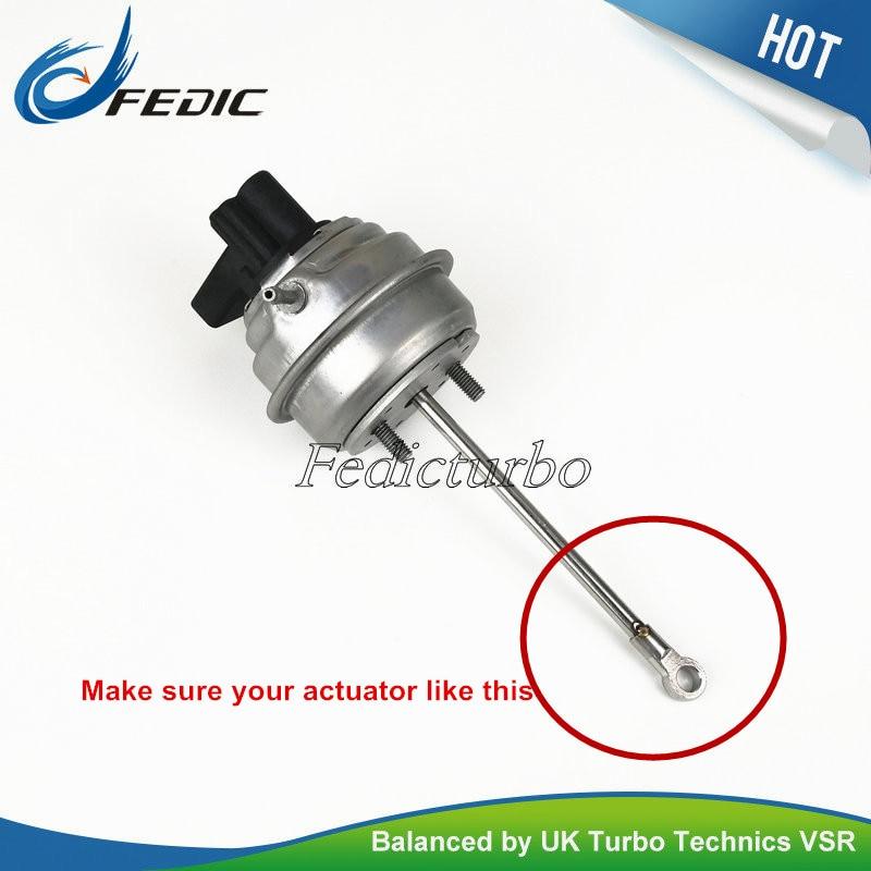 Turbocharger actuator GTB1646V 768652 Turbo wastegate for Dodge Avenger Caliber Journey 2 0 CRD 103Kw 140HP
