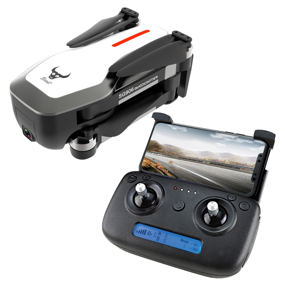 SG906 RC drone GPS 5G WIFI FPV 4K Camera drone Brushless Selfie Foldable RC Drone with hd camera