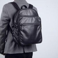 Lanspace Мужская Корова кожаный рюкзак модные натуральная кожа рюкзак бренд Функциональная сумка