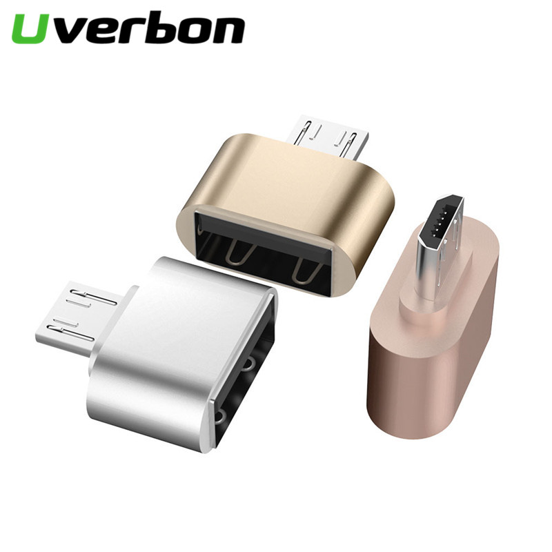 Uverbon Micro Usb To USB 2.0 Adapte OTG Cable Male To Female Converter Adapter Cable Code For Samsung LG Huawei Xiaomi HTC