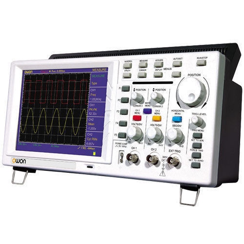 New OWON portable DIGITAL OSCILLOSCOPE 25MHz PDS5022T 7.8in color LCD 3 yrs warranty