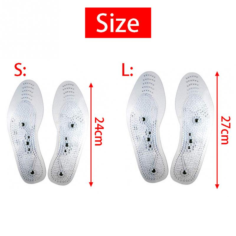 Foot massager Magnetic Therapy Thener foot Massage Pads Clean Health Slimming Pain Acupuncture Insoles Shoe mat Foot Care Pad 3