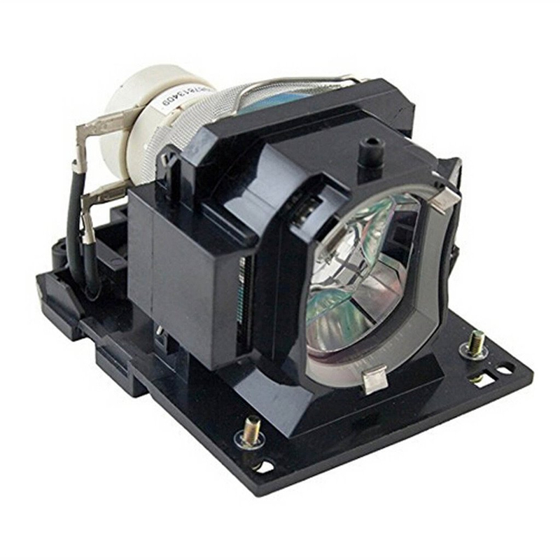 DT01433 Replacement Projector Lamp with Housing for Hitachi CP-EX250 / CP-EX250N / CP-EX300 dt01151 projector lamp with housing for hitachi cp rx79 ed x26 cp rx82 cp rx93 projectors