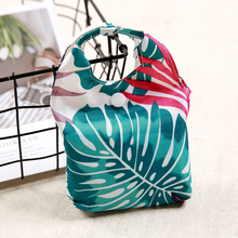 New Foldable Shopping Bag Leaf Eco Handy Reusable Tote Pouch Recycle Storage Folding Oxford