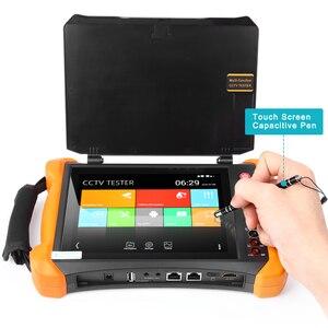 Image 2 - 8 Inch Ip Camera Tester Cctv Tester Monitor Met Sdi/Tvi/Ahd/Cvi/Multimeter/tdr/Opm/Vfl/Poe/4K/Hdmi In & Out X9 MOVTADHS