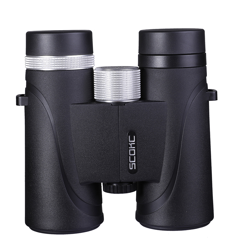 10x42 IPX7 Waterproof Binoculars Bak4 Prism Optics High Power Telescope for Camping Hunting Outdoor
