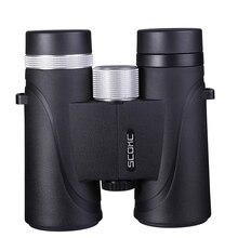 10x42 IPX7 Waterproof Binoculars Bak4 Prism Optics High Power Telescope for Camping Hunting Outdoor aomekie 12x25 binoculars compact high power bak4 prism fmc porro telescope for outdoor hunting birdwatching sport black camo