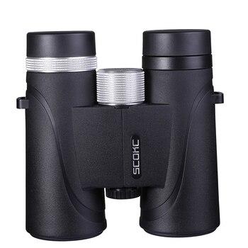 10x42 IPX7 Waterproof Binoculars Bak4 Prism Optics High Power Telescope for Camping Hunting Outdoor waterproof binoculars 8x42 8561 camping hunting scopes powerful binoculars bird watching telescopes bak4 prism fast shipping