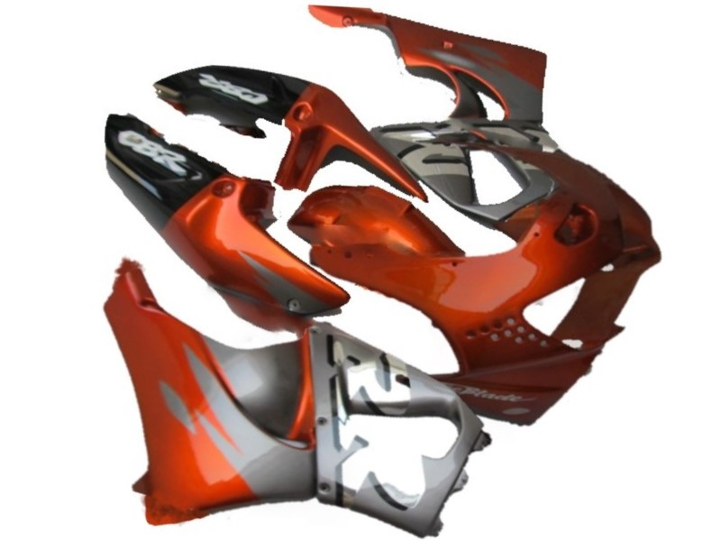 Kits de carénage en plastique ABS pour moto pour Honda CBR900RR 919 98 99 CBR919RR 1998 1999 cadres de vélos de sport gris rouge raccords-Nn