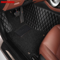 ZHAOYANHUA car floor mats for Skoda Octavia Superb Fabia Rapid spaceback Waterproof ca heavy duty car styling carpet floor liner