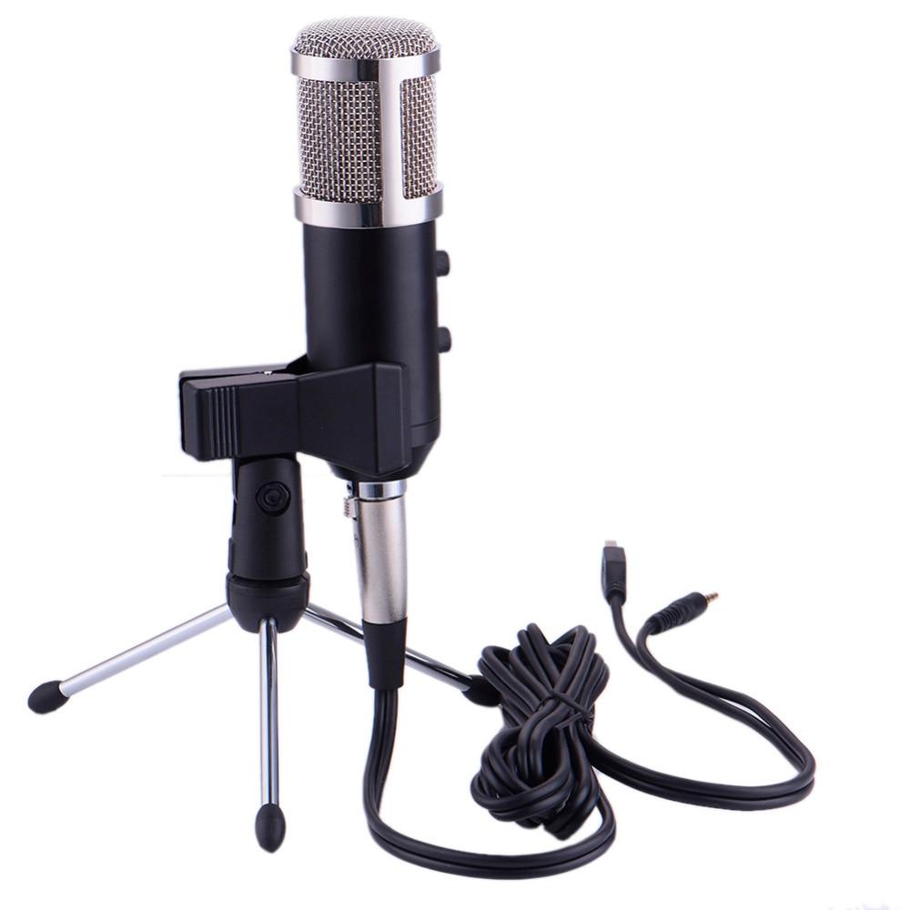 컴퓨터 네트워크 용 USB 마이크 유선 리버베이션 마이크 노래 / 녹음 / 화상 회의 / 게임 마이크로폰 응축기