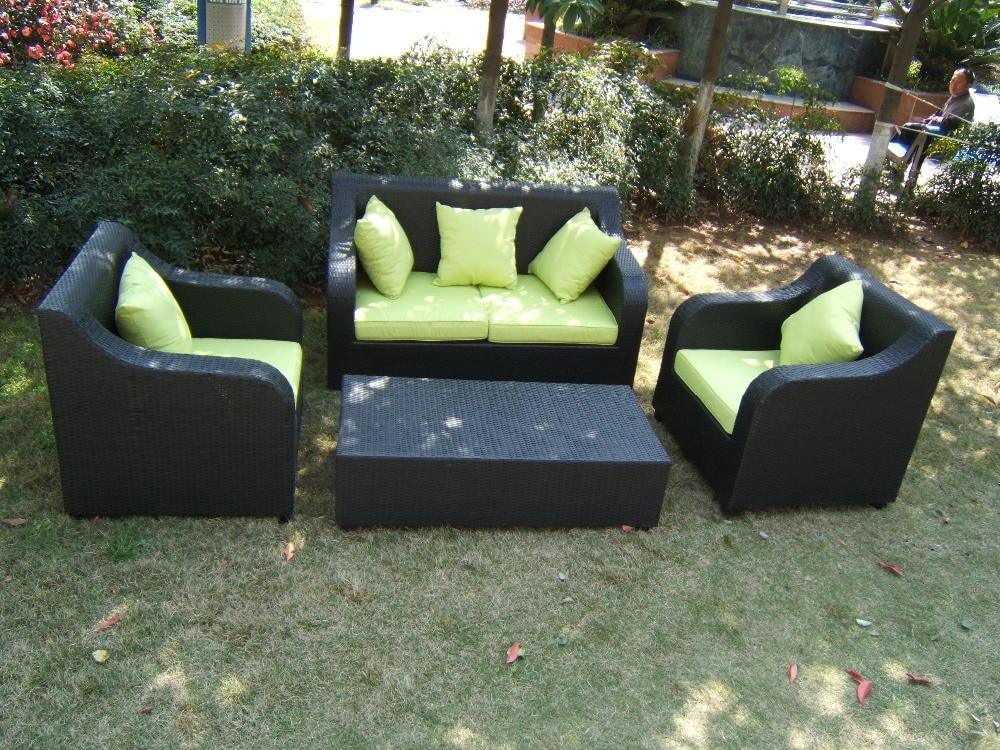 2017 Hot Sale Trade Assurance Royal Rattan Outdoor Bench Garden Patio  Furniture