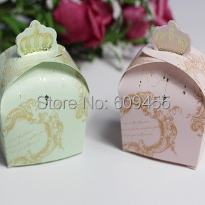 new arrivalgold crown themed bridal shower favors box wedding candy boxes sweet love box