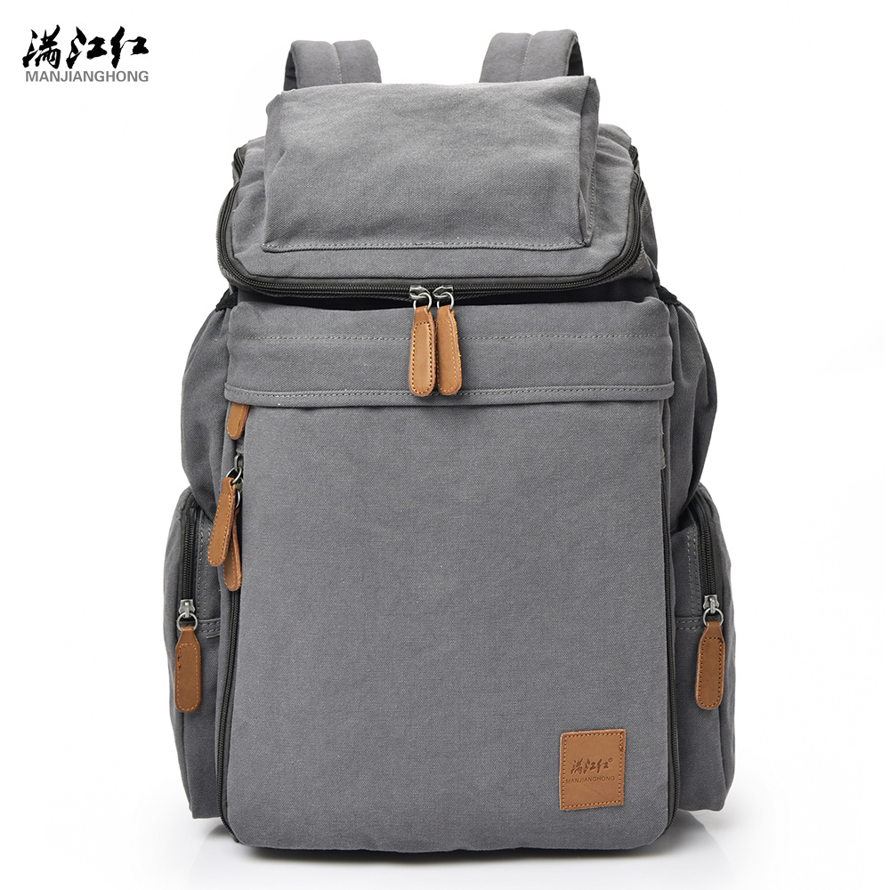 Brand Vintage Backpack Large Capacity Men Male Luggage Bag Canvas Travel Bags Top Quality Travel Duffle Bag Multifunctional Bag vintage backpack large capacity men male luggage bag school travel duffle bags large high quality escolares new fashion
