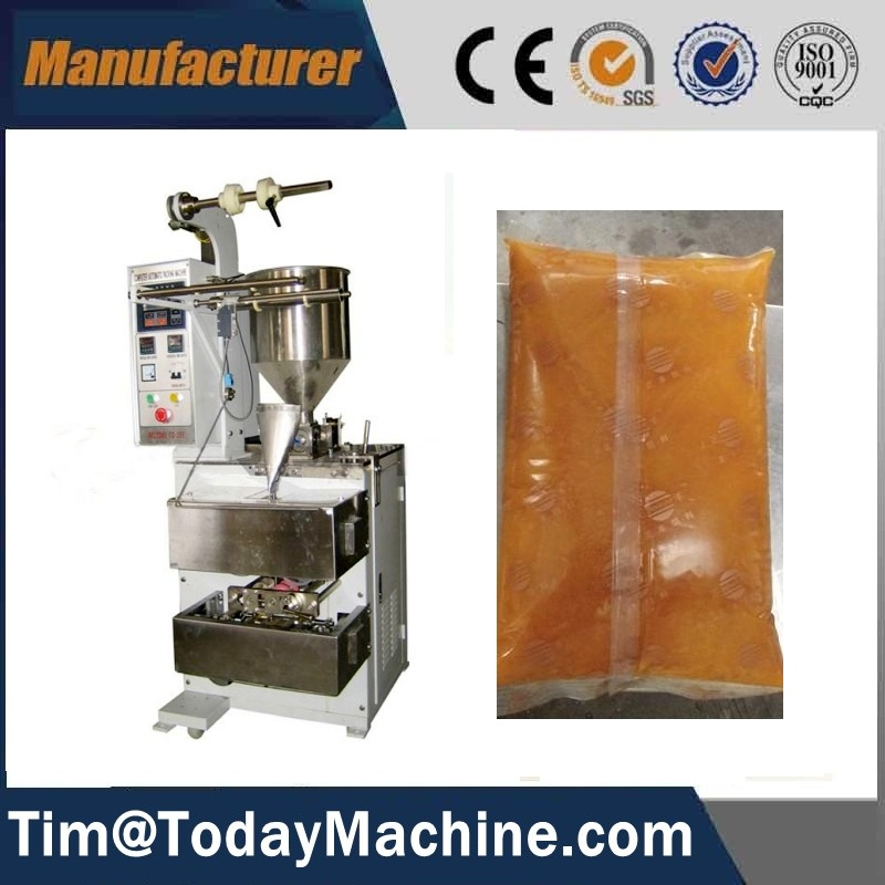 Tablet granule sachet packing film pouch tetra sides simple adjustment coffee/sugar/milk tetra sealing packing