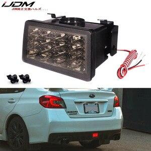 iJDM 3rd 4th All-In-One LED Rear F1 Style strobe LED For Subaru WRX/STi Impreza XV Crosstrek Rear Fog Light, Tail/Brake Light(China)