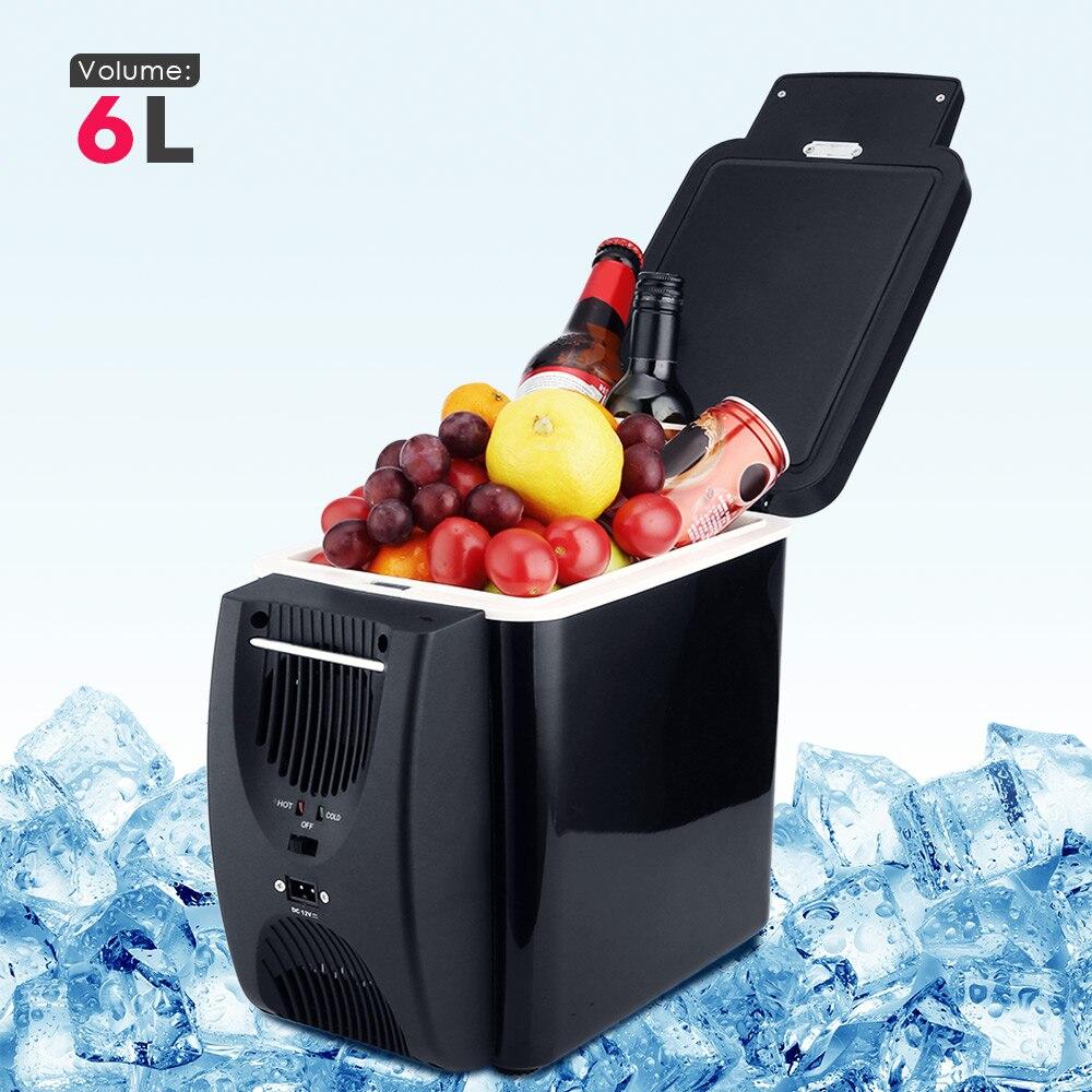 Refrigerador congelador coche dos tipo eléctrico calentador enfriador para viajar senderismo camping al aire libre auto fidge