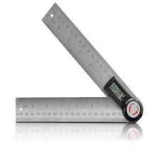 360 Degree Digital Display Angle Ruler Angle Gauge Measuring Angle Ruler Inclinometer Measuring Angle Tool