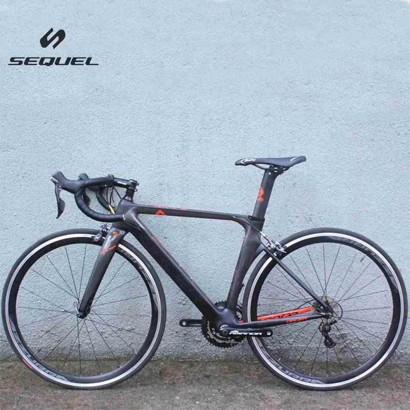 2017 carbon bike T800 SHIMA 4700/5800 ultagra road bicycle 22 speeds bicicleta with aluminium wheels EMS shipping