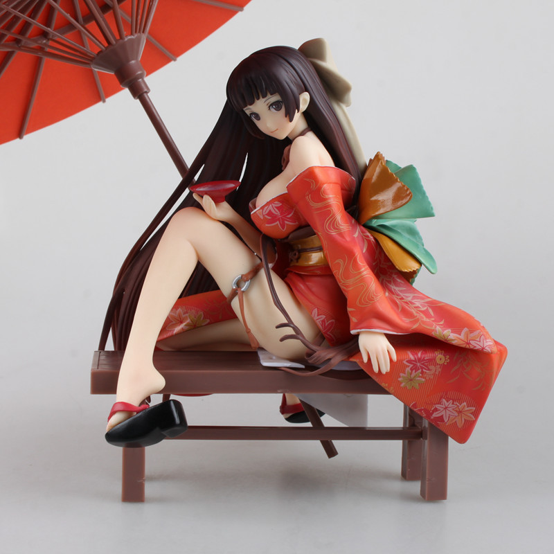 19CM Native Tony Tomoe Nakahara Sexy girl Kimono action figure toys Christmas gift 1