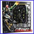 FÃS MODELO IN-STOCK Transformação robot KO TF MMC Preto SIXSHOT 38 cm alta versão Anime