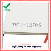 Temperatura de refrigeración TEC1-12705 50*50 MM área grande de energía chip de 5 CM nueva película de refrigeración de semiconductores