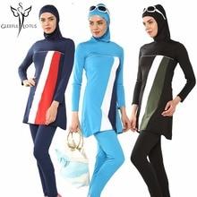 muslim swim suits hijab muslim swimwear women high waisted bathing suits islamic beach wear muslim swimsuit