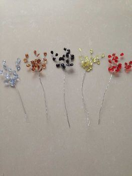 144 Bunches=432 Stems  Bombonieres Wedding favor  JEWEL SPRAY  in Many Colors *Free Shipping*