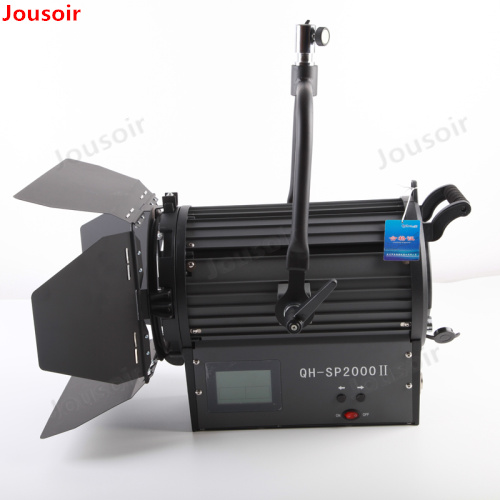 200 W LED projecteur puissance réglable couleur température électrique mise au point photographie lampe supplémentaire lumière CD50