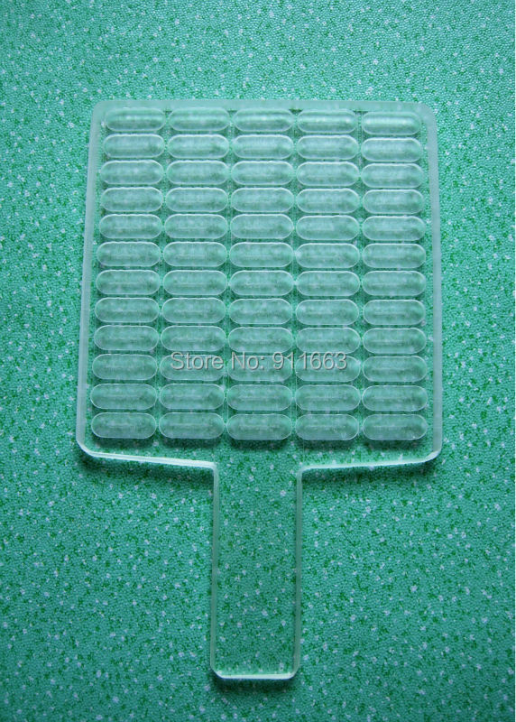 60 cavity ,sizes 000 capsule used countercapsule counting machinecount board of manual capsule fillers for comestic using