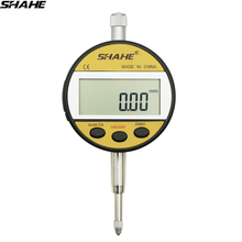 Shahe 0,01 мм Цифровой стрелочный индикатор 0-12,7/0-25,4 мм стрелочный индикатор с розничной коробкой прецизионный инструмент