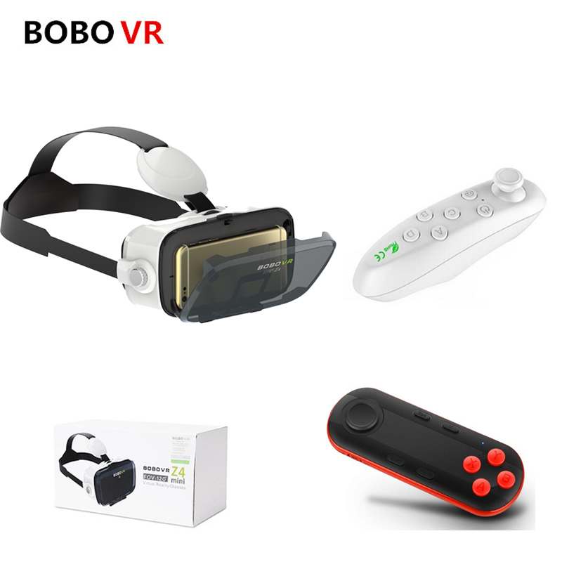 VR BOX 2.0 BOBOVR Z4 mini VR Glasses Virtual Reality goggles 3D glasses google Cardboard bobo vr headset For 4.3-6.0 smartphone xiaozhai z3 bobovr vr box 3d vr virtual reality headset