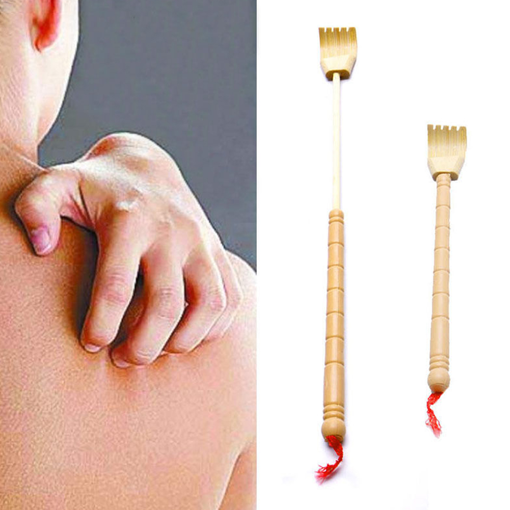 New Hot Extendable Back Scratcher Bamboo Wooden Bamboo Telescopic Back Scratcher Extendable Back Itching Self Massager