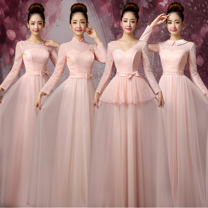 Online Get Cheap Petal Pink Bridesmaid Dresses -Aliexpress.com ...