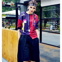 acdf77b78f9 COOREENA Harajuku Summer Asymmetry Long Sleeve Women T Shirt Plus Size  Loose Tops