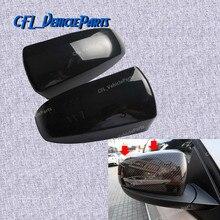 Пара L+ R снаружи Зеркало заднего вида крышка Кепки 51167180725 51167180726 для BMW X5 X6 E70 E71 E72 2007 2008 2009 2010 2011 2012