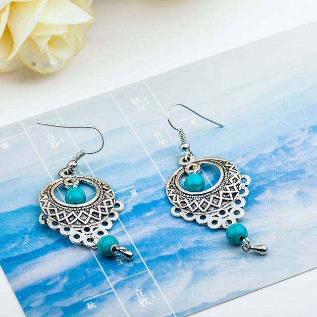 Water Drop Earrings Nature Element