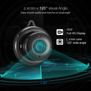 Image 2 - Kruiqi 960 720p の 720 ホームセキュリティ IP カメラ双方向オーディオワイヤレスミニカメラナイトビジョン Cctv の Wifi カメラベビーモニター V380 プロ