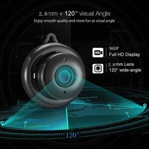 Image 2 - Kruiqi 960P 720P Home Security IP Camera Two Way Audio Wireless Mini Camera Night Vision CCTV WiFi Camera Baby Monitor V380 pro
