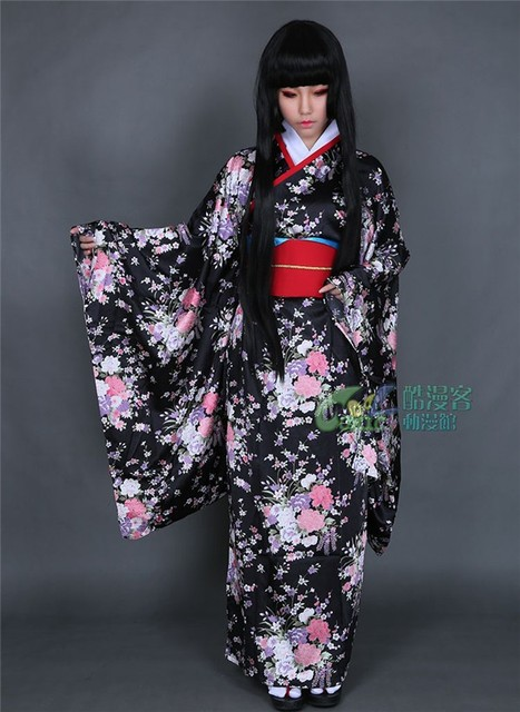 Agree, rather Hot kimono girl and black magnificent