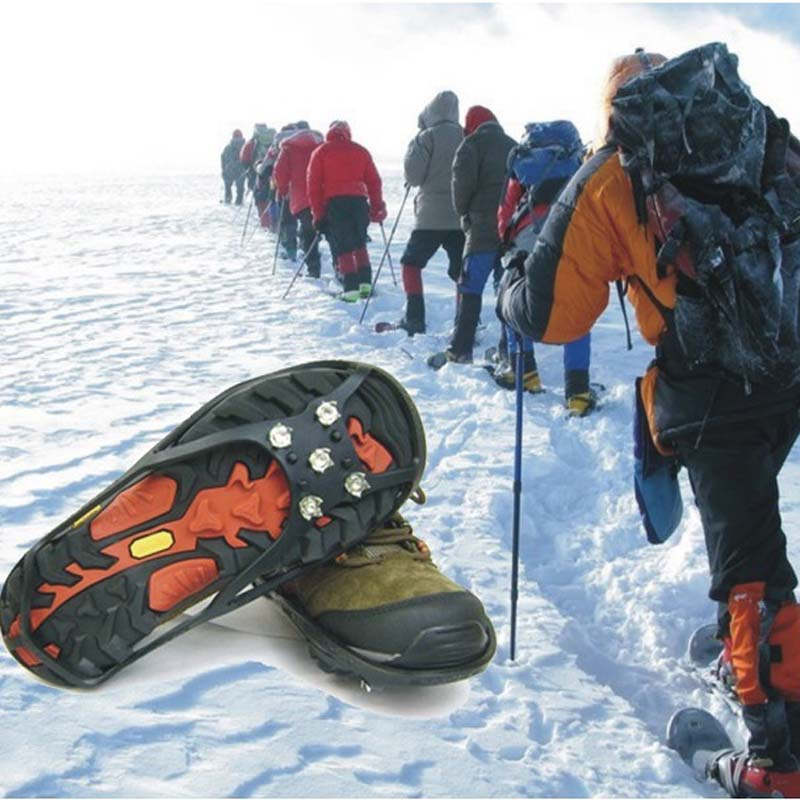 Collection Here Outdoor Item+climbing Ice Crampons Skates Magic Spiker,ice Gripper And Snow Boots Grips In Short Supply Hand Tools Tools