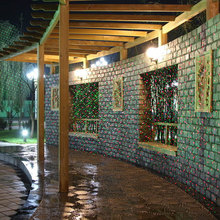 Outdoor Garden Decoration Waterproof IP44 Christmas Laser Light Star Projector Showers Red Green Static Twinkle With IR Remote